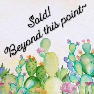 Other - 🌵Sold! Beyond this point🌵